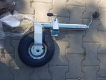 Roata sprijin remorci platforma cu camera aer