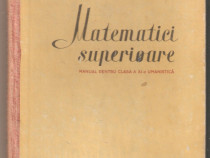 Matematici Superioare-D.V.Ionescu