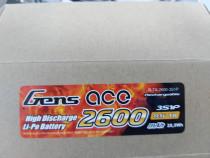 Acumulator Gens Ace 3s1p Li-Po 2600 mah 11.1V