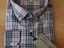 Camasi bărbați Burberry new model logo brodat