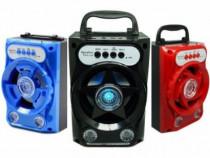 Boxa portabila bluetooth,lumini disco,functie handsfree,noua