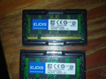Memorie RAM 4GB Laptop. Kit memorii laptop - DDR2 , 2 x 4GB