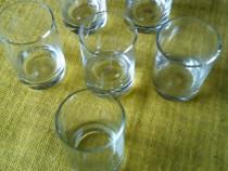 Set vechi de pahare mici pentru tuica, buc = 6