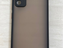 Samsung S20 FE A21S A42 - Husa Hybrid Margine Silicon Neagra