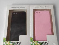 Huse Iphone 5S NOI negru si roz
