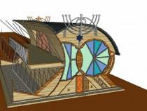 Modelare 3D Randare Design, proiect apartament casa SketchUp
