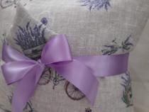 Pernă decorativă cu lavandă