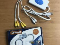 Placa de captura Video Audio Usb DVR Tuner Rca Supraveghere
