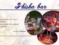 Shisha cheese candy donuts bar evenimente nunta botez