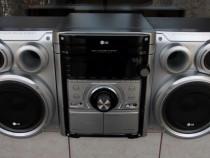 Combina LG u360d radio casetofon USB cd mp3 boxe telecomanda