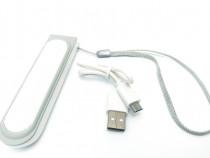 Acumulator extern, 2600 mAh, Baterie urgenta cu 1 USB C197
