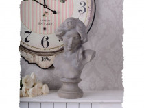 Bust femeie -statueta nostalgica din rasini CW067