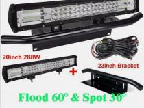 "Led bar 7D 4x4/bara led/proiector/lampa led curbat 15""18""20"""