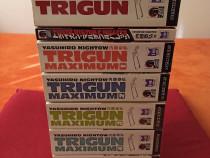 Trigun(Omnibus)+Trigun Maximum(Omnibus1-5)+MultiBullet Manga