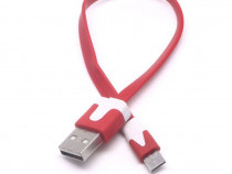 Cablu date, incarcare micro usb plat Samsung S3 S4 HTC LG