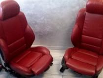 Interior recaro rosu bmw e46 sedan