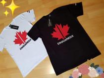 Tricouri Dsquared2,logo brodat, Italia, diverse marimi