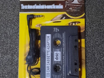 Caseta adaptor audio jack 3,5mm, AUX, pentru casetofon auto