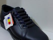 Pantofi barbati model AȘ bleumarin piele naturala 100%