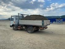 Săpături cu utilaje agregate balastiera nisip pietriș