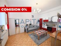 Comision 0% - Apartament spatios cu 2 camere semidecomandat,