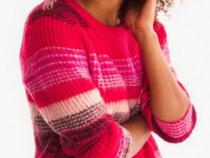Pulover C&A roșu - NOU - cu Etichetă - damă M