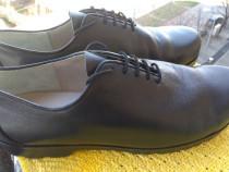 Pantofi piele, Hiegl,handmade, mar 43.5 (27.7 cm)
