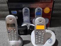Telefon digital fara fir + receptor suplimentar