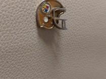 Pandantiv logo NFL de colectie an 1984 din argint aurit