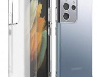 Husa Telefon Silicon Samsung Galaxy S21 Ultra g998 5G Clear