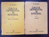 Calcul diferential si integral - gh. siretchi (2 volume)