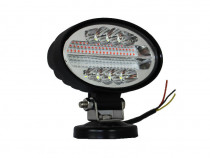 Proiector Auto Offroad MRG, 48 LED, 144 W, LED Rosu/Alb C482