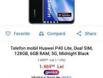 Huawei p40 5G lite nou,factura + garantie