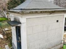 Izvorul Nou, Monument Funerar, Loc de veci