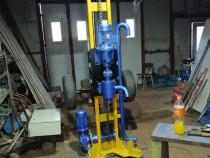 Utilaj instalație foraj puțuri apă electrica