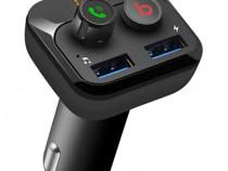 Modulator FM Bluetooth cu Buton de Apel 2XUSB Valentine PNI