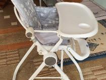 Masa cu scaun CHICCO Polly, pentru copii +6 luni