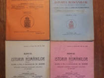 Lot 4 manuale interbelice de Istorie a Romanilor / R3P5F