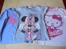 Lot 3 tricouri pentru fetite marimea 134 - 140