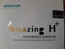 Folie sticla securiz. Nillkin Amazing 9H Sams.Galaxy S5 +bon