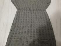 Vesta/rochie tricotata Bershka