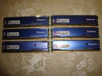 Memorii ram DDR3 Kingston hyperX 1600 Mhz CL9 12GB triple ch