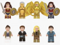 Set 8 Minifigurine tip Lego DC Super Heroes cu Wonder Woman