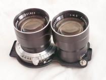 Obiectiv TLR mamiya - sekor 1:4.5 f = 135 mm - obturator blo