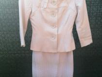 Costum elegant Ginette Fashion - sarafan și sacou