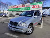 Mercedes ML,2.7Diesel,2002,Trapa,Xenon,Navi,4x4,Finantare Ra