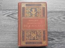 Carte veche 1899 jean carol les deu routes du caucase