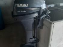 Barca de aluminiu cu motor yamaha 8 cai 4 timpi