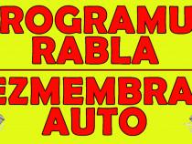 PROGRAMUL RABLA, RADIERE MASINI, TRANSPORT GRATUIT
