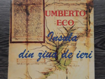 Umberto eco insula din ziua de ieri